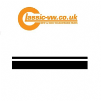 Mk1 Golf GTI Side Stripe Set, Black 161989524 4AT
